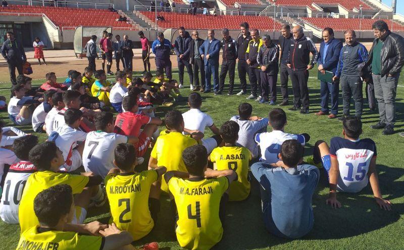 اردوی استعدادیابی برای تیم ملی فوتبال نونهالان در گنبدکاووس برگزار شد