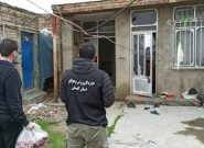 توزیع بستههای بهداشتی عیدانه در مناطق حاشیهنشین گنبدکاووس