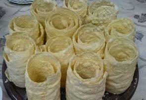 پخت تاتارچورک سرگرمی ترکمنهای گلستان در قرنطینه خانگی