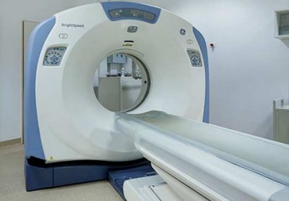 بهره برداری از دستگاه سی تی اسکن پیشرفته در گنبدکاووس