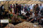 جمعه بازار گنبدکاووس در شرایط قرمز کرونا هم تعطیل نیست