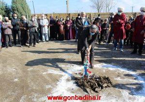 کلنگ ساخت مدرسه شش کلاس روستای قول حاجی بر زمین زده شد