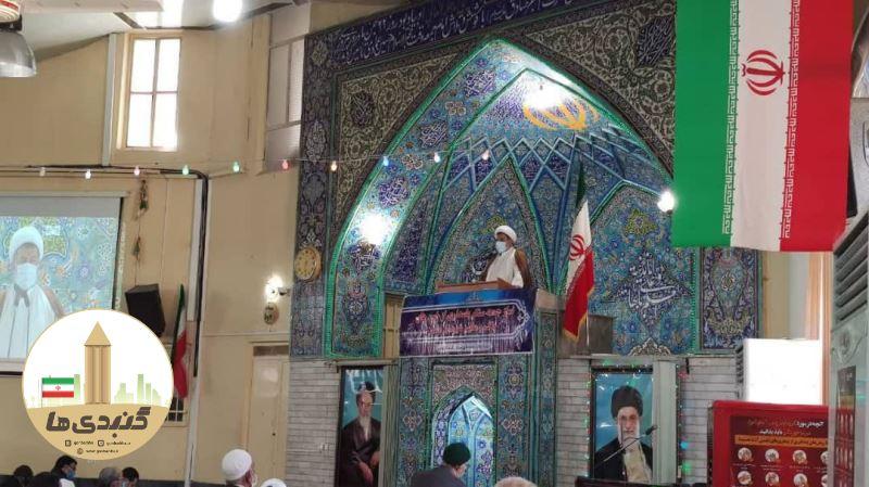 گزارش تصویری نماز جمعه ۲۴ بهمن ۹۹ گنبدکاووس