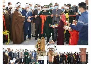 افتتاح پروژه های بخش مرزی داشلی برون در دهمین روز دهه فجر